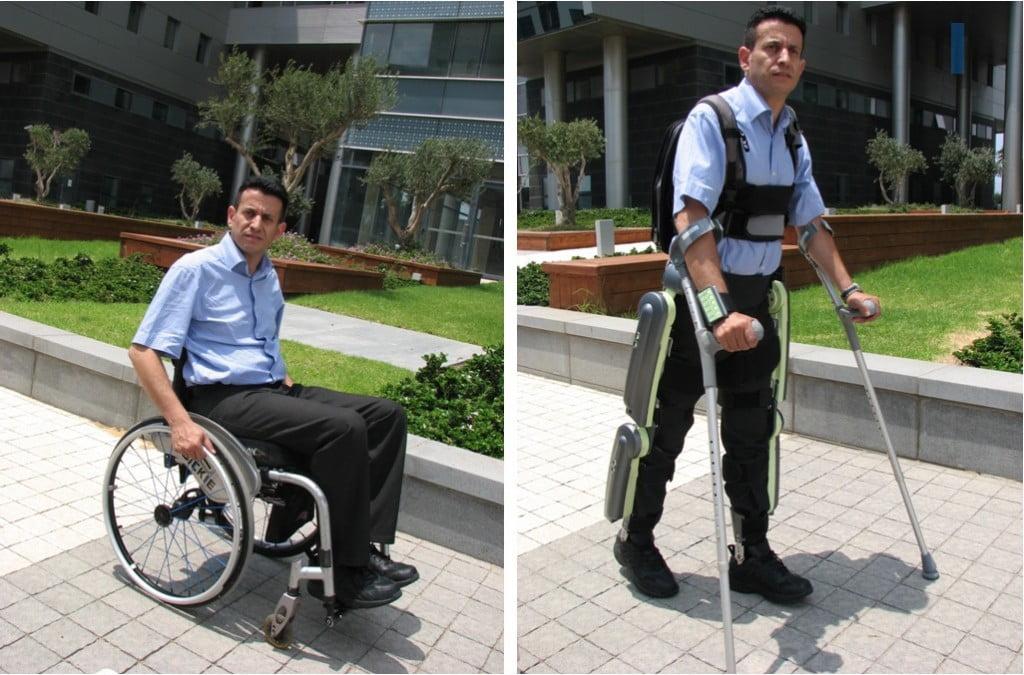 ReWalk's exoskeleton. Courtesy
