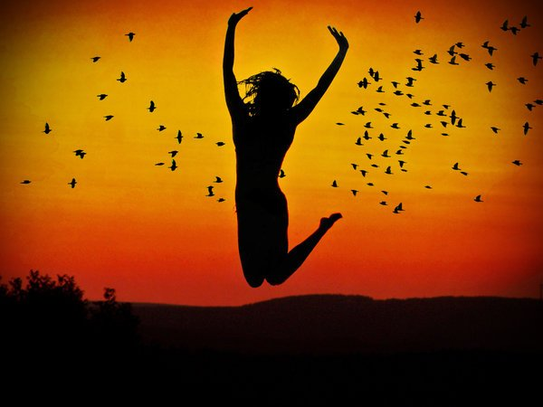 Happiness via Pixabay