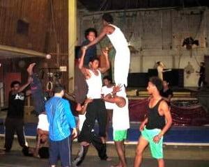 Israel circus school