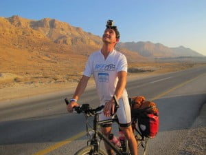 IMG 0639 300x225 Israeli To Cycle Across North America For Cancer Charity
