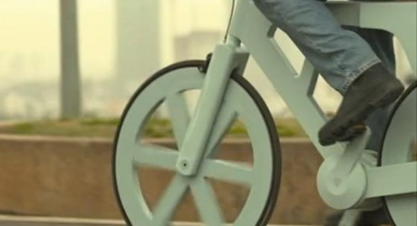 Cardboard Bicycle - Environment News - Israel