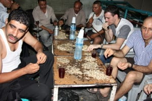 Chewing in Aqaba, Jordan