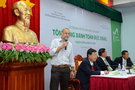 Professor Amir Sagi at Vietnam