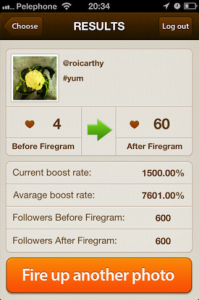 firegram test 199x300 Firegram Helps You Grab More Likes For Your Instagram Photos
