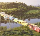 "Environment News: ""Trash Mountain"" May Add Recycled Container Bridge To Its Vista"