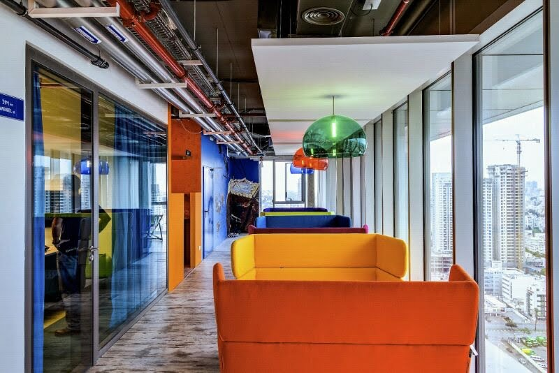 courtesy Google 21 Check Out Googles Awesome New Tel Aviv Offices!