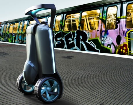 MUVe Over Segway: The Next Great Urban Vehicle Might Be This Foldable Bike