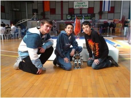 The Robo-Waiter team