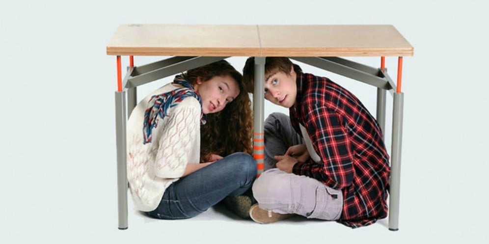 "Technology News: Israeli ""Earthquake Proof Table"" Becomes Permanent Exhibit At MoMA"