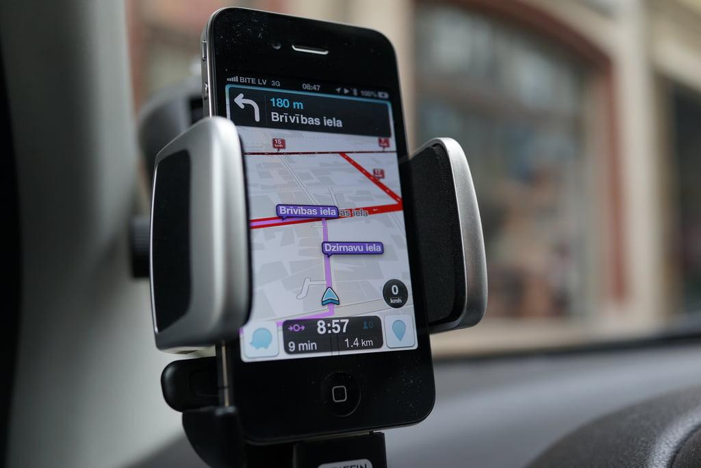 Waze App. Courtesy