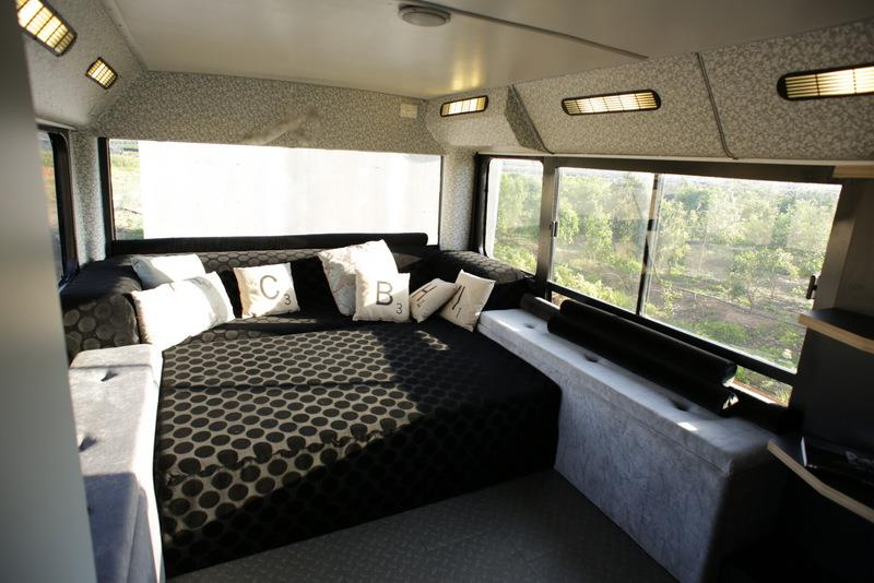 Israeli Public Bus Transformed Into Luxury Home