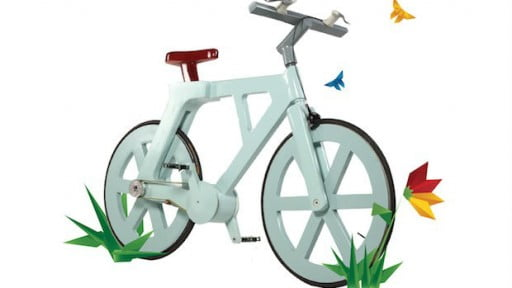 Environment News: Israeli Inventor Seeks Crowdfunding To Put Cardboard Bike On The Streets