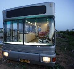Environment News: Israeli Public Bus Transformed Into Luxury Home