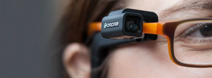 Orcam Will Help The Visually Impaired Read Anywhere