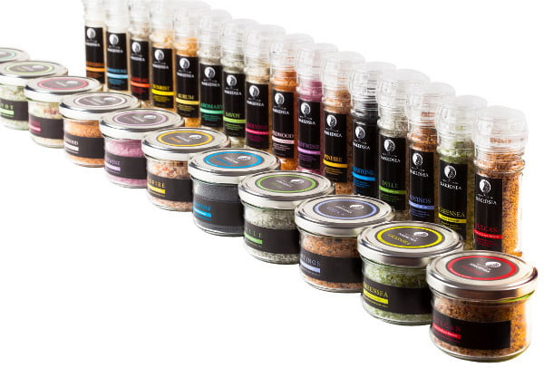 The Naked Sea Salt collection