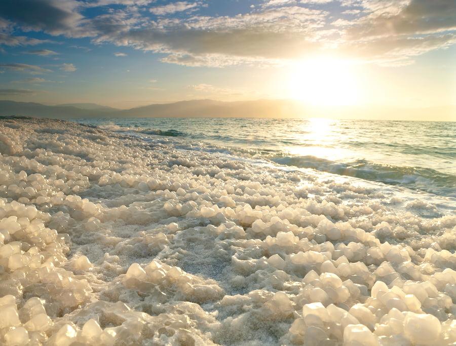 Social Awareness: Israeli Entrepreneur Hopes Dead Sea Salt Will Promote Peace In The Middle East
