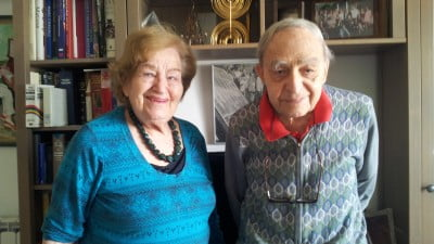 People: At 96, Harry Zvi Tabor And His Wife Viviane Talk To NoCamels About Pioneering Solar Power