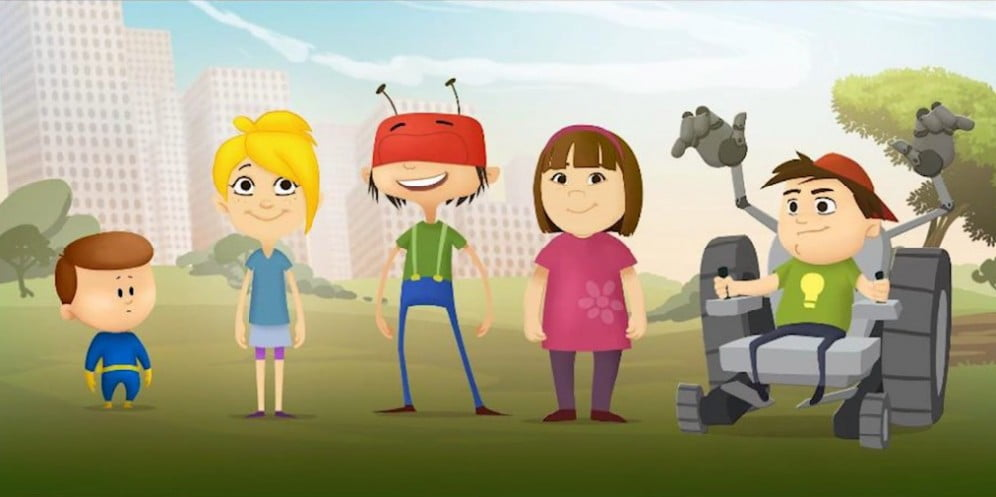 Social Awareness: Israeli Cartoon Helps The Disabled Community By Making Them Superheroes