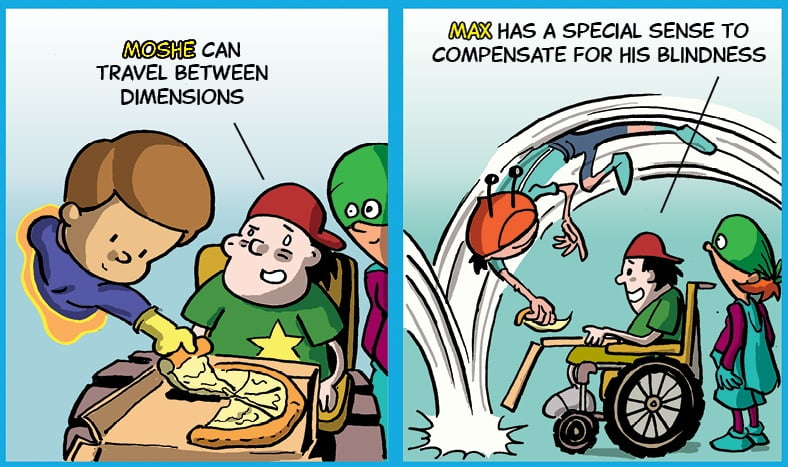 true superheroes Nickelodeon Israel Turns Kids With Disabilities Into Superheroes