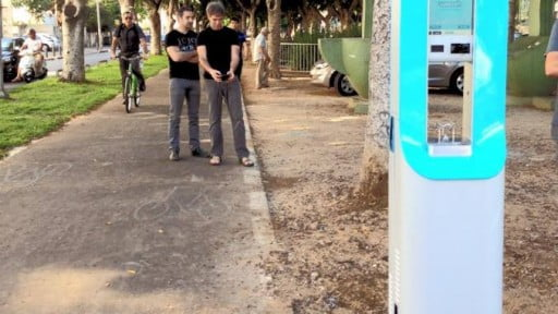 Environmetn News: Water Venture Offers Free, Clean And Cold Water To Tel Aviv Residents