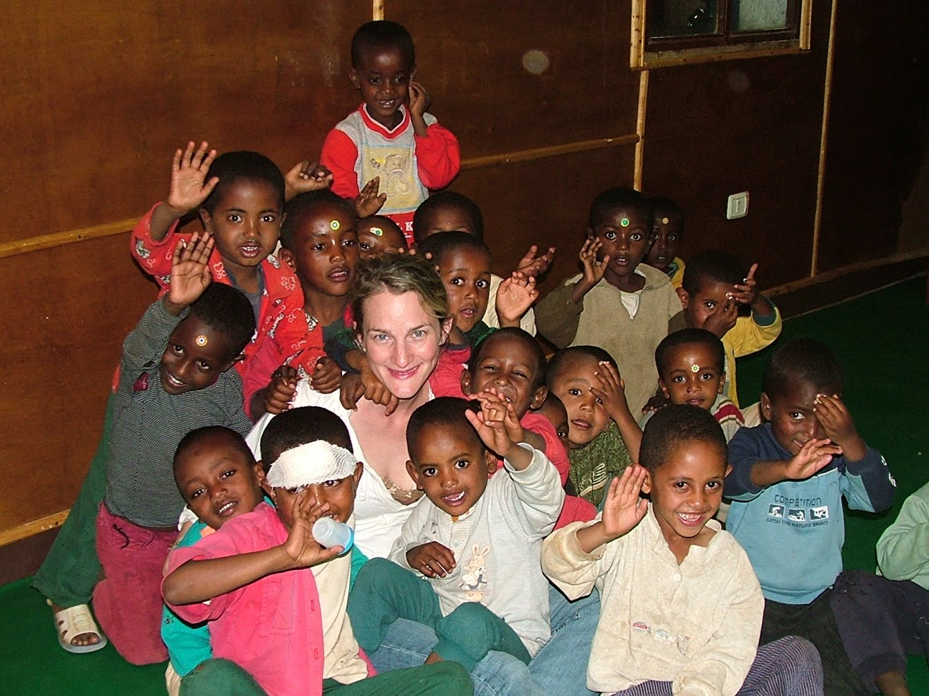Israelis Bring ART Joy & Love To Ethiopian HIV Orphans