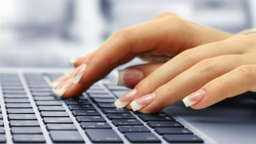 bigstock-Female-hands-typing