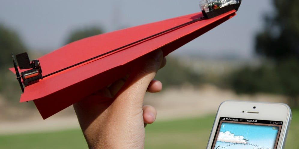 Technology News: Motorized Paper Plane Kickstarter Campaign Soars Past Its Goal Within 24 Hours