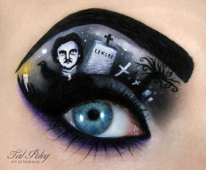 Eye Art Design : Israeli makeup artist creates eye catching art design news