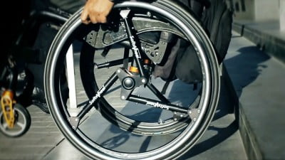 Technology News: Israeli Company Enables Wheelchair Riders To Roll Down Stairs By Reinventing The Wheel