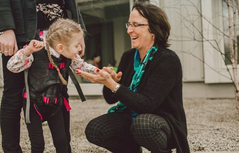 Mom Of Disabled Son Creates Harness That Allows Him And Other Children To Walk For The First Time