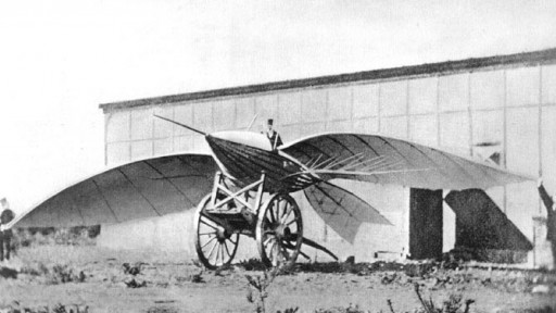 LeBris1868 flying machine
