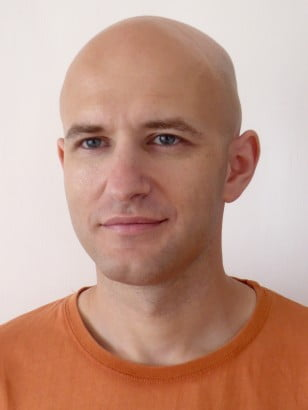 A clean-shaven professor Varenberg