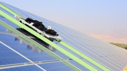 Environment News: Robots Are What Makes This Israeli Solar Farm Super-Efficient