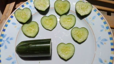 Israel's Newest Crop: Heart-Shaped Cucumbers