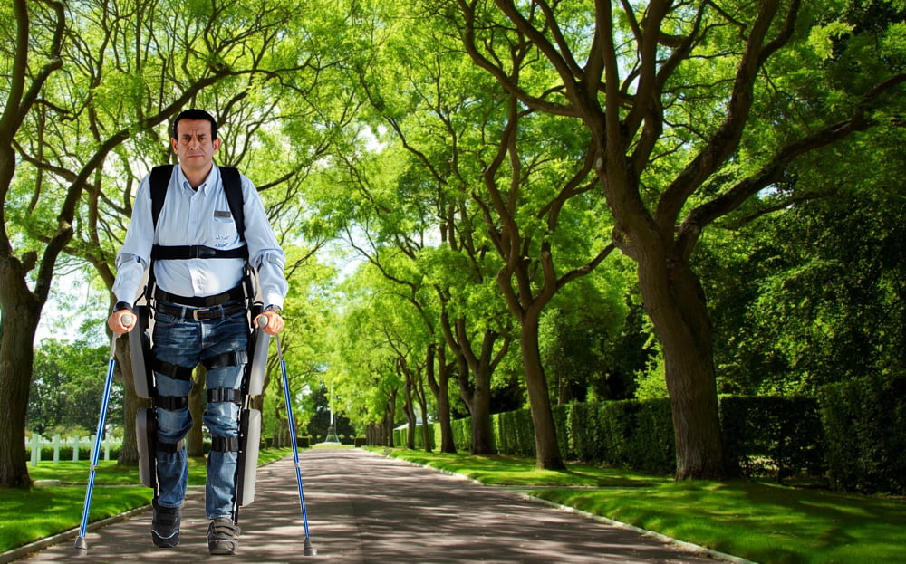 Rewalk. Courtesy of ARGO Medical Technologies