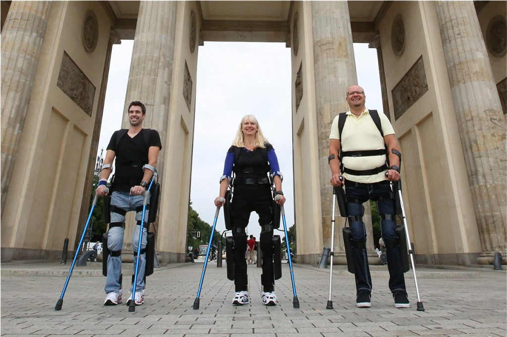 Rewalk users. Courtesy of ARGO Medical Technologies
