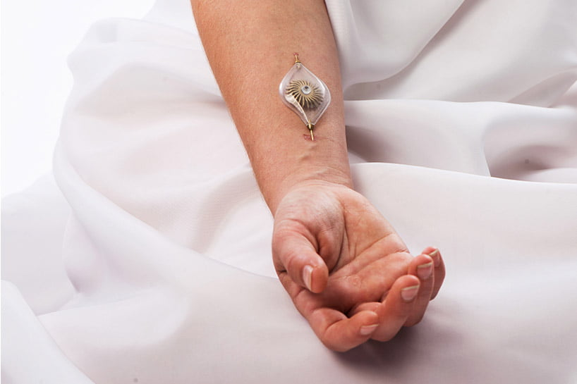 This Designers Jewelry Is Inserted Under Your Skin To Harvest Energy From Blood Flow