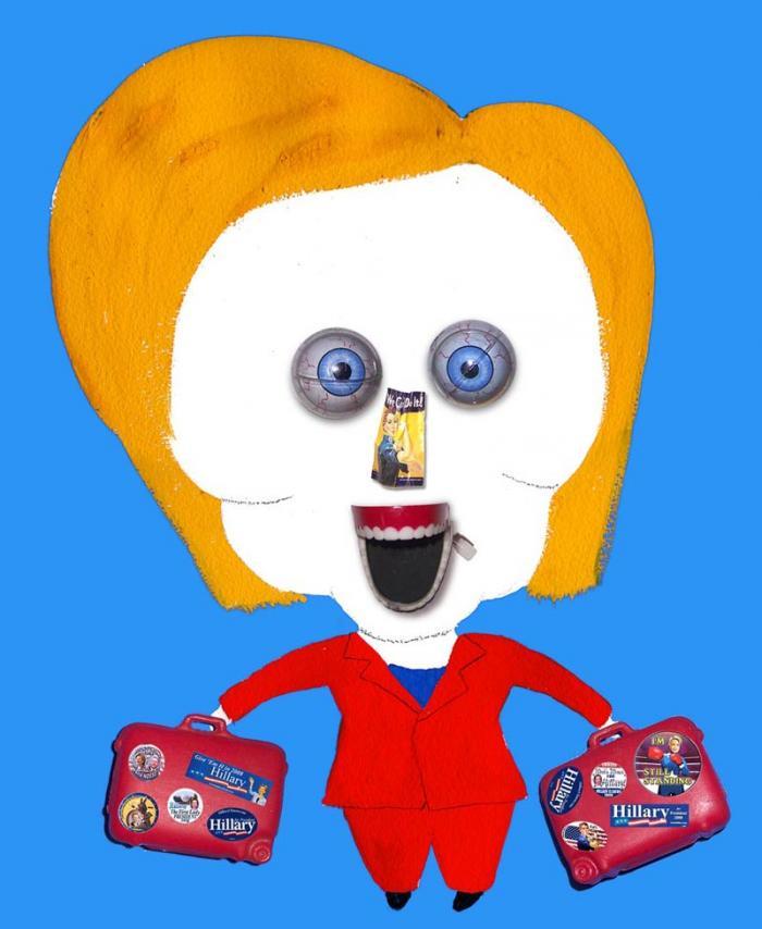 Hanoch Piven Hillary Clinton