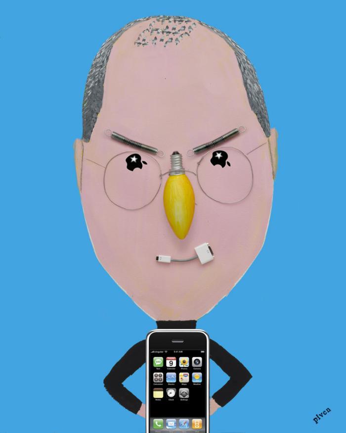 Hanoch Piven Steve Jobs
