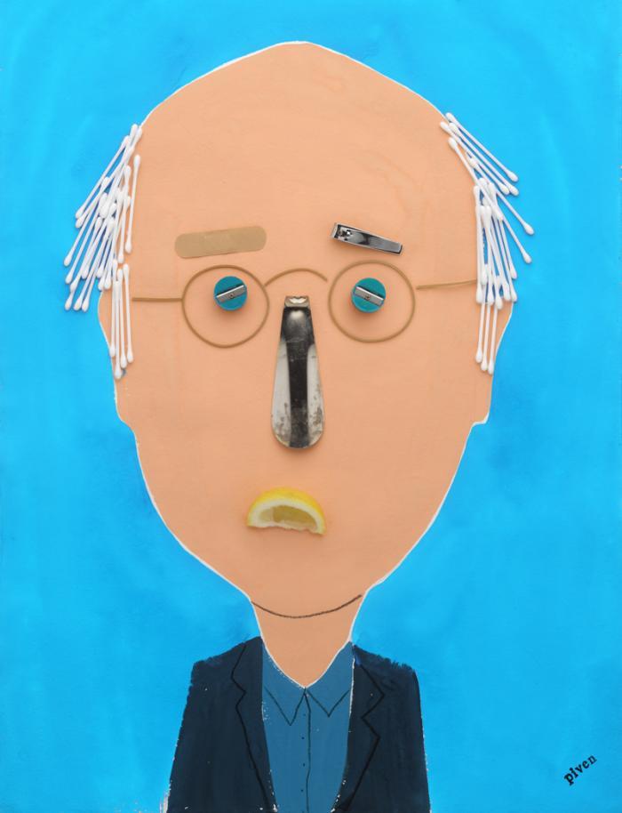 Hanoch Piven Larry David