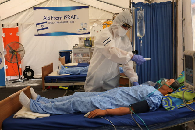Israel Sets Up 'Hospitals of Hope' To Combat Ebola In Hardest Hit African Countries