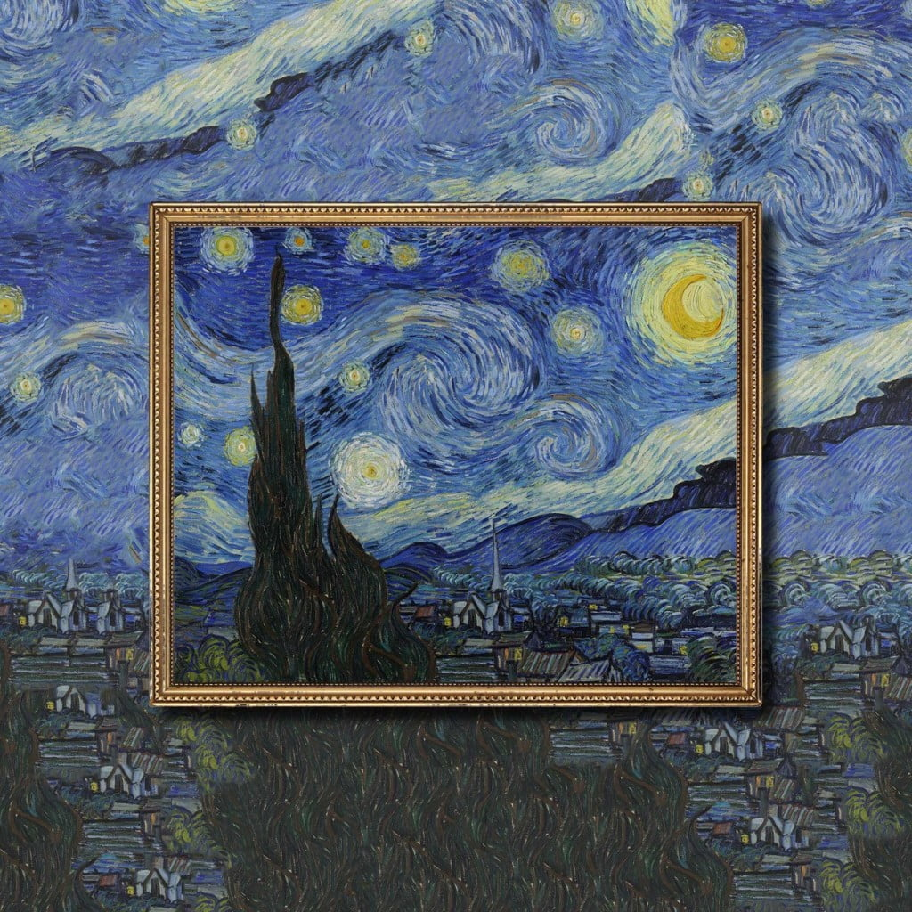 Israeli Student Wows Judges In Photo Contest With Extrapolated Image Of Van Gogh Classic