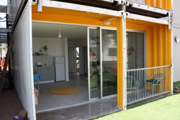 Israeli Students Turn Shipping Containers Into Swanky Sustainable Homes