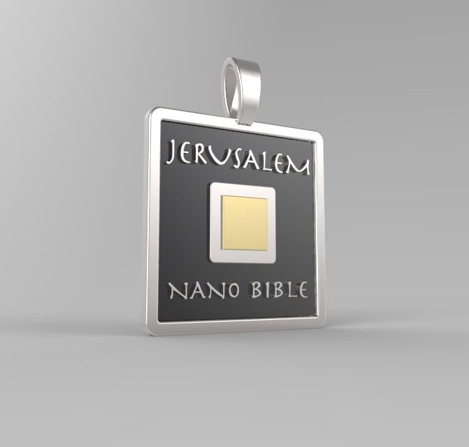 Bible Necklace Nanobible