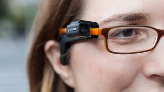 OrCam device for the visually impaired via IVC-online.com