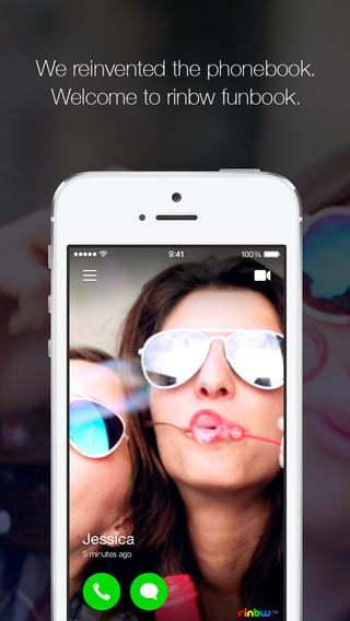 App Of The Week: rinbw   Create Your Very Own Video Phonebook