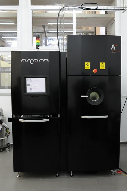 ARCAM's 3D metal printer