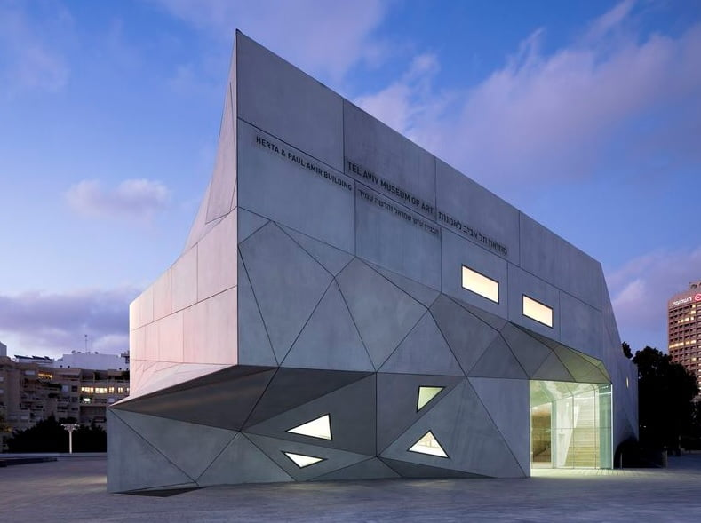 amir building tel aviv museum