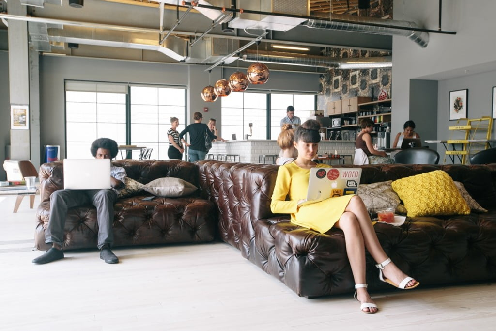 wework shared office space. Courtesy of wework