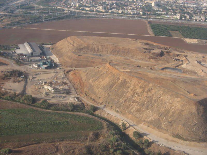 Hiriya Mountain Ariel Sharon Park